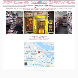 Welcome to the Happy Shops (Happy Shop, Nana, Pin Up) - The Best Sex Shops in Amsterdam and Haarlem | Home