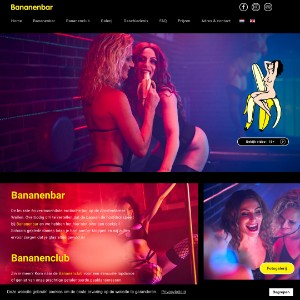 The Bananenbar and  Bananenclub, Lapdance, Live Erotic Entertainment in the Amsterdam Red Light District